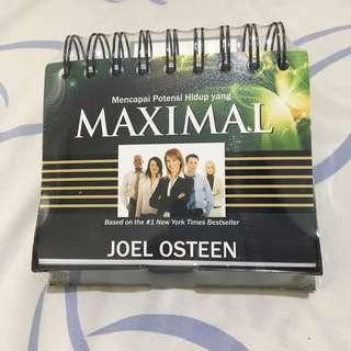 New Joel Osteen buku motivasi