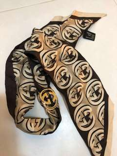 Pre-Loved Authentic Gucci scarf