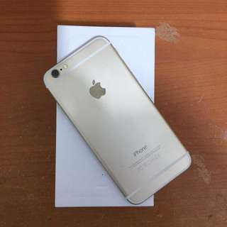 Iphone 6 16gb gold ex inter bisa tt