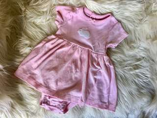 Carter's Pink Dress 3Mos (used twice)