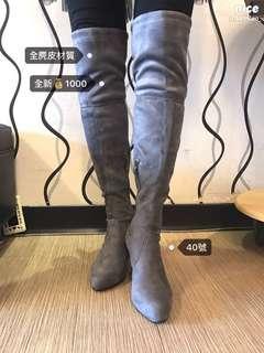 🚚 全麂皮長靴