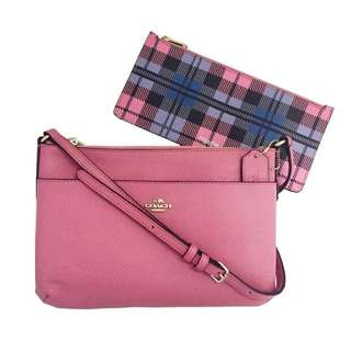 Coach Sling With Zip Purse