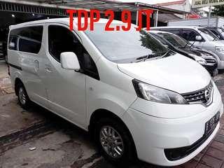 Nissan Evalia XV-AT 2012 Tdp 2.9 jt