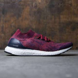 Adidas UltraBoost Uncaged Burgundy Red