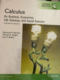 Calculus for Business, Economics, Life sciences, and social sciences (13th edition)