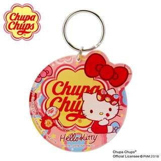 Japan Sanrio Hello Kitty × Chupa Chups Key Holder Mirror