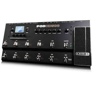 Line 6 POD HD500 Modelling Pedal (Studio Unit)