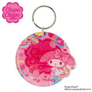Japan Sanrio My Melody × Chupa Chups Key Holder Mirror