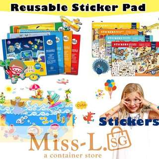 🎀 REUSABLE STICKERS GAME PAD-TYPEB