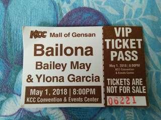 Bailona VIP ticket pass
