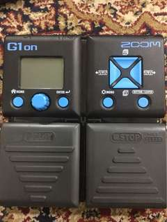 Zoom G1on for Guitar Effect 150