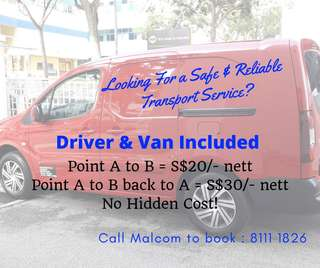 Looking for a safe & reliable transport service to transport your stuffs?