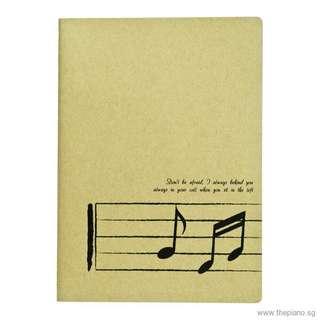 Craft Musical Notation Manscript Paper - A4