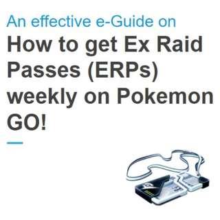 An effective e-Guide on how to get ERPs weekly on Pokemon GO!