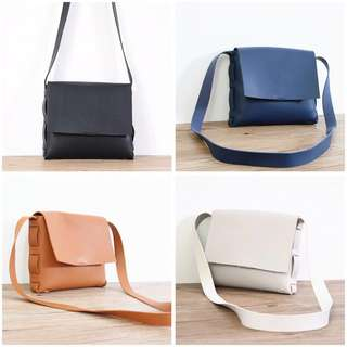 Instock BN Shoulder Sling Bag Vintage Small Mini Size 4 colors Available!