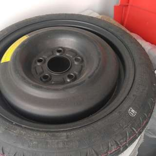 Spare Tyre for swift sports. Original no spare tyre.