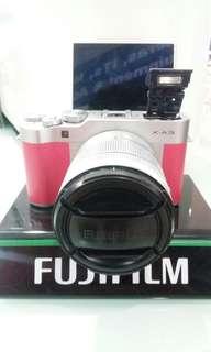 Kredit Kamera Fuji X-A3 Cukup bayar 199rb