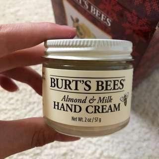 BURTS BEES Honey Almond Milk beeswax hand cream
