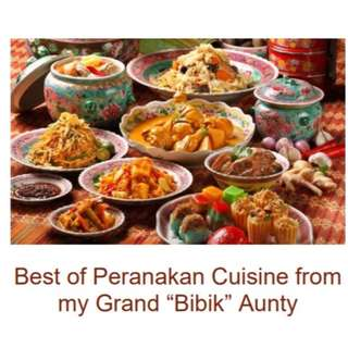 Best of Peranakan Cuisine from my Grand (Bibik) Aunty