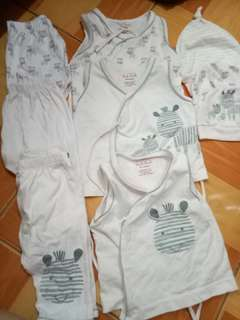 Take all infant clothes