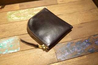 Anchor Bridge Horween Horse Leather Zip Wallet