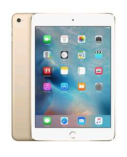 Apple Ipad Mini 4 128 GB Gold WiFi Only Bisa Kredit Tanpa Kartu Kredit
