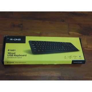 R-ONE R1601 Wired USB Keyboard