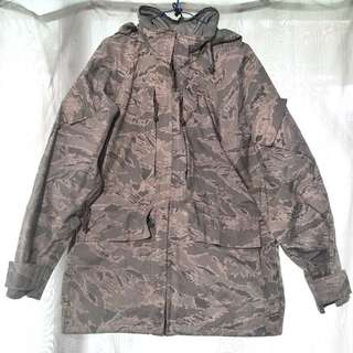 ABU APECS 空軍版 ECWCS 虎紋 Parka Small Regular