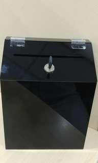 Multi-purpose letter box with key lock