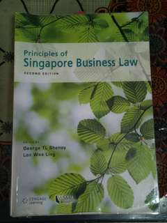 Business Law SMU textbook