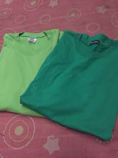 Plain Green Tshirt