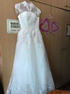 Wedding Gown for sale white lace ball gown