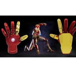 全新 Iron Man 反應堆發光發聲可動關節手部 10400 mAh 充電器- Avengers 3 復仇者聯盟 3