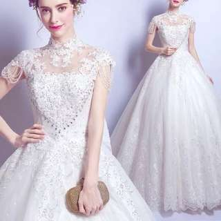 Wedding Bridal Gown white