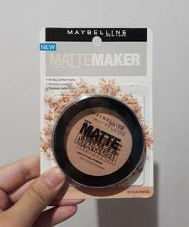 Maybelline Matte Maker Powder Foundation