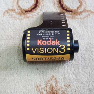 Kodak Vision 3 500T Motion Picture Cinema Film Roll ( 5219 Production Series ) 35mm
