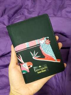 CLEARANCE SALE! Kate Spade Passport Holder- Unisex (Black)