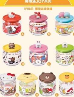 Pre-0rder 7/11 limited edition Hello Kitty containers