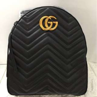 Gucci GG marmont quilted backpack