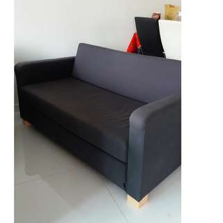 Two seater sofa bed in good condition