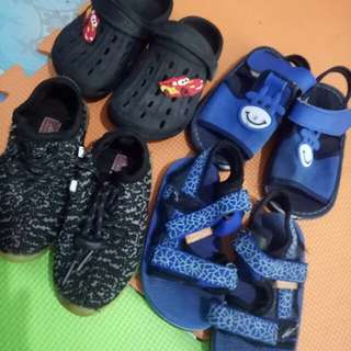 PreLoved Shoes anf sandals for kids