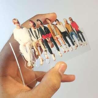 [Create by yourself] KPOP acrylic bookmark 15 cm