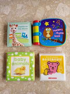 5 book bundle for baby