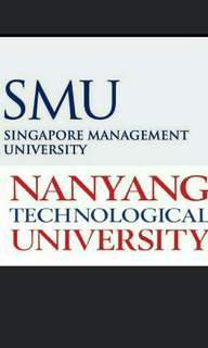 SMU NTU ebooks