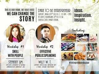 Workshop public speaking Gratis