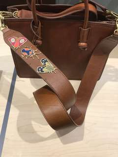 Fossil bag strap