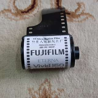 Fuji Eterna Vivid 160D Motion Picture Cinema Film Roll ( 8543 Production Series ) 35mm