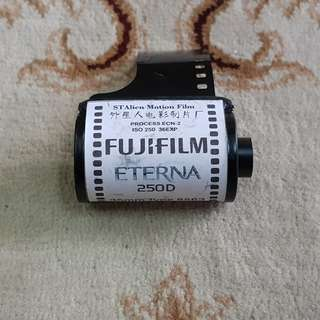Fuji Eterna Vivid 250D Motion Picture Cinema Film Roll ( 8563 Production Series ) 35mm
