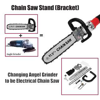Electric Chain Saw Stand 11.5""