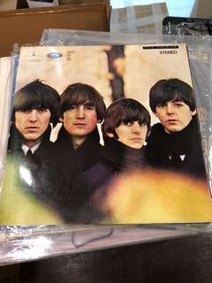 5 pcs of Beatles, rare Singapore first pressing Vinyl Record